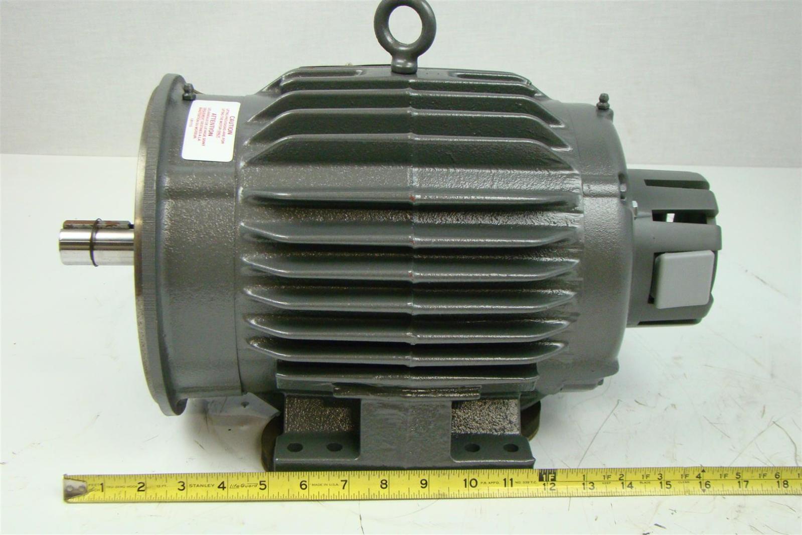 Baldor reliancer motor 184tc 5hp 230 460v 1760rpm 3ph for Baldor reliance motor parts