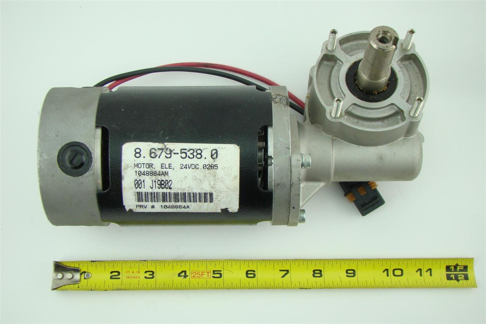 Asi Dc Gear Motor Ele 24vdc Tennant Sweeper J19b02 9588am