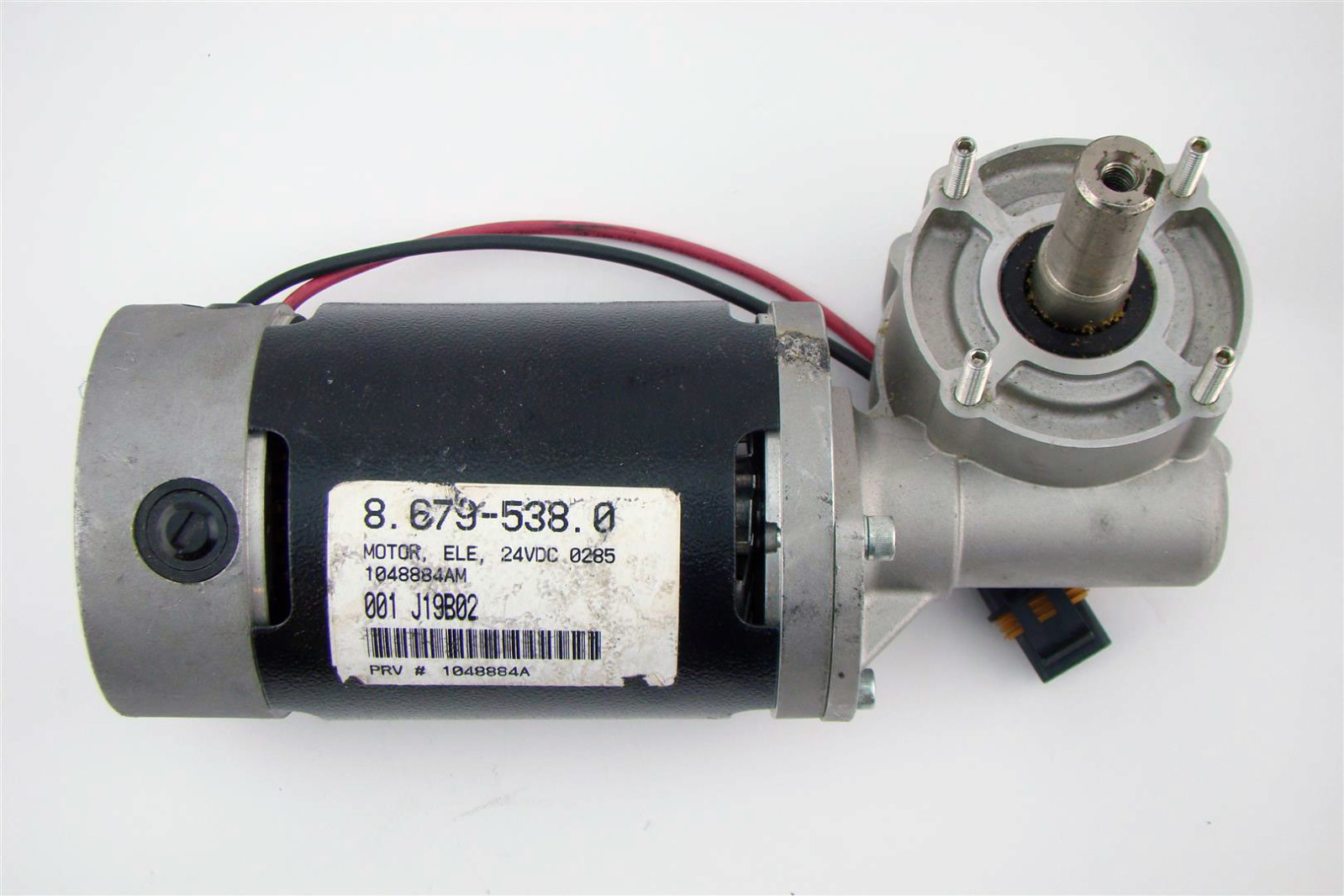 Asi Dc Gear Motor Ele 24vdc Tennant Sweeper J19b02 9588am