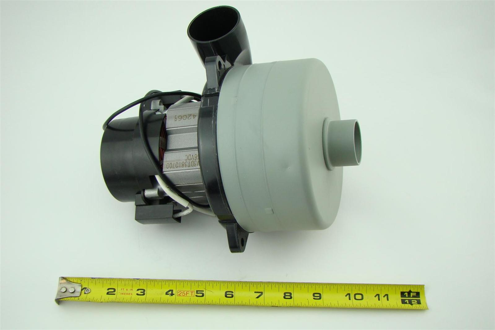 Ametek lamb vacuum blower motor 36vdc v3dt3810700 joseph fazzio incorporated Ametek lamb motor