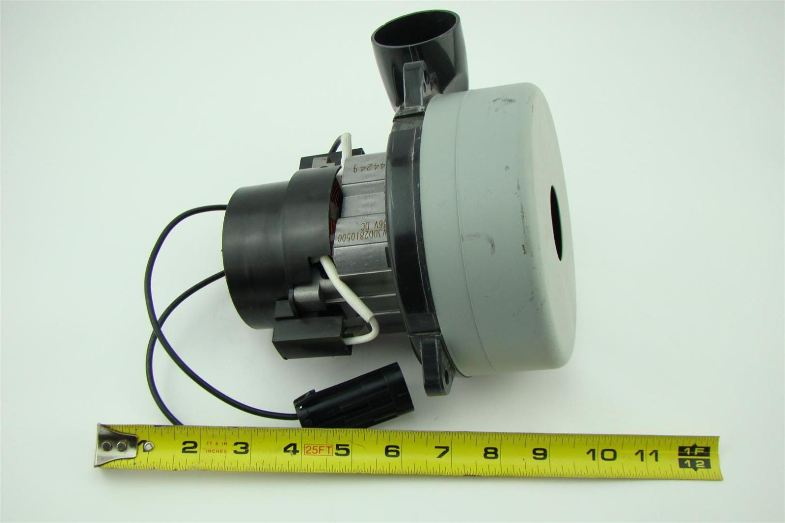 Ametek lamb vacuum blower motor 36vdc v3dd2810500 joseph fazzio incorporated Lamb vacuum motor parts