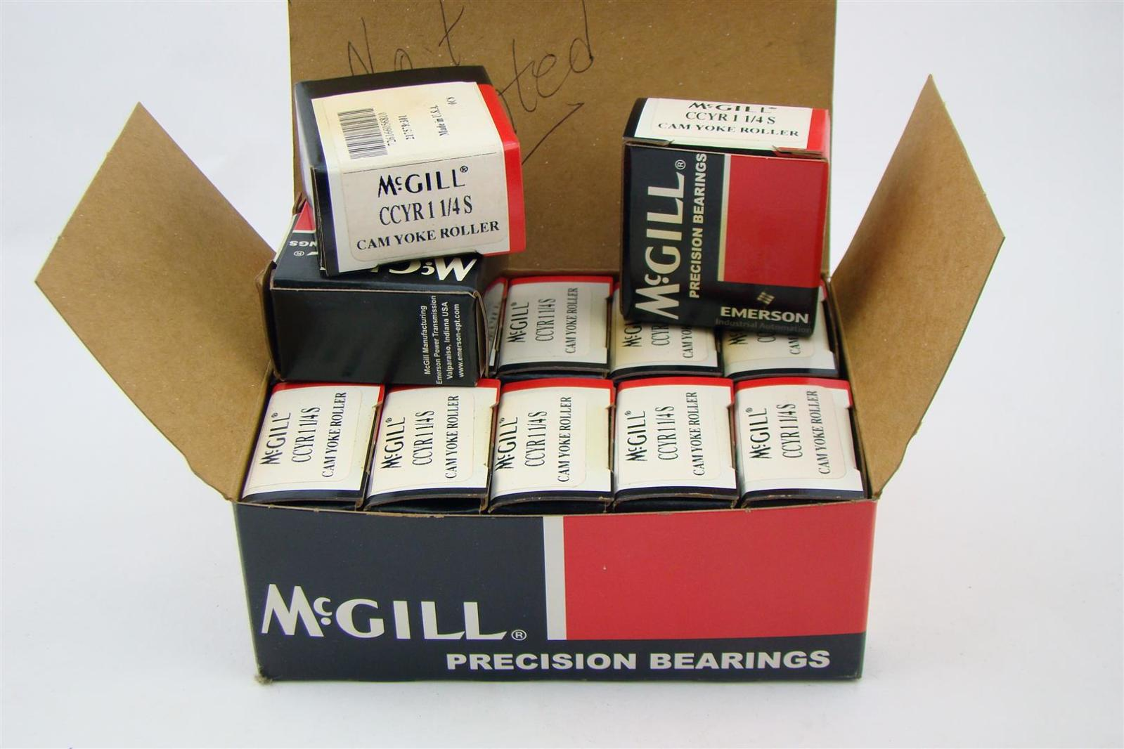 (13) McGill Precision Bearing CCYR 1-1/4 S