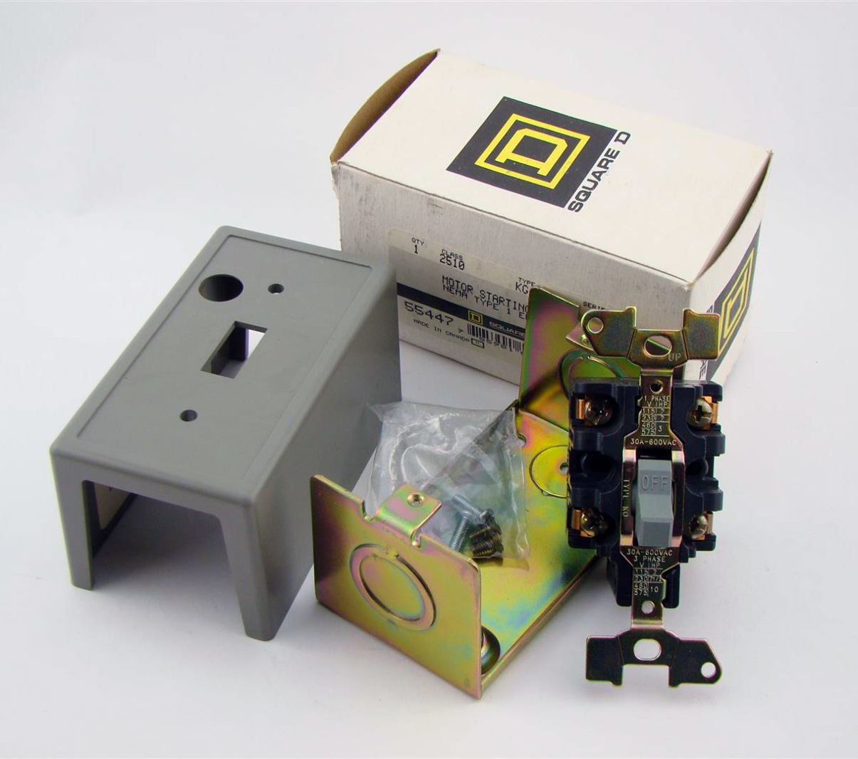 Square D Motor Starting Switch Type 1 Enclosure 55447