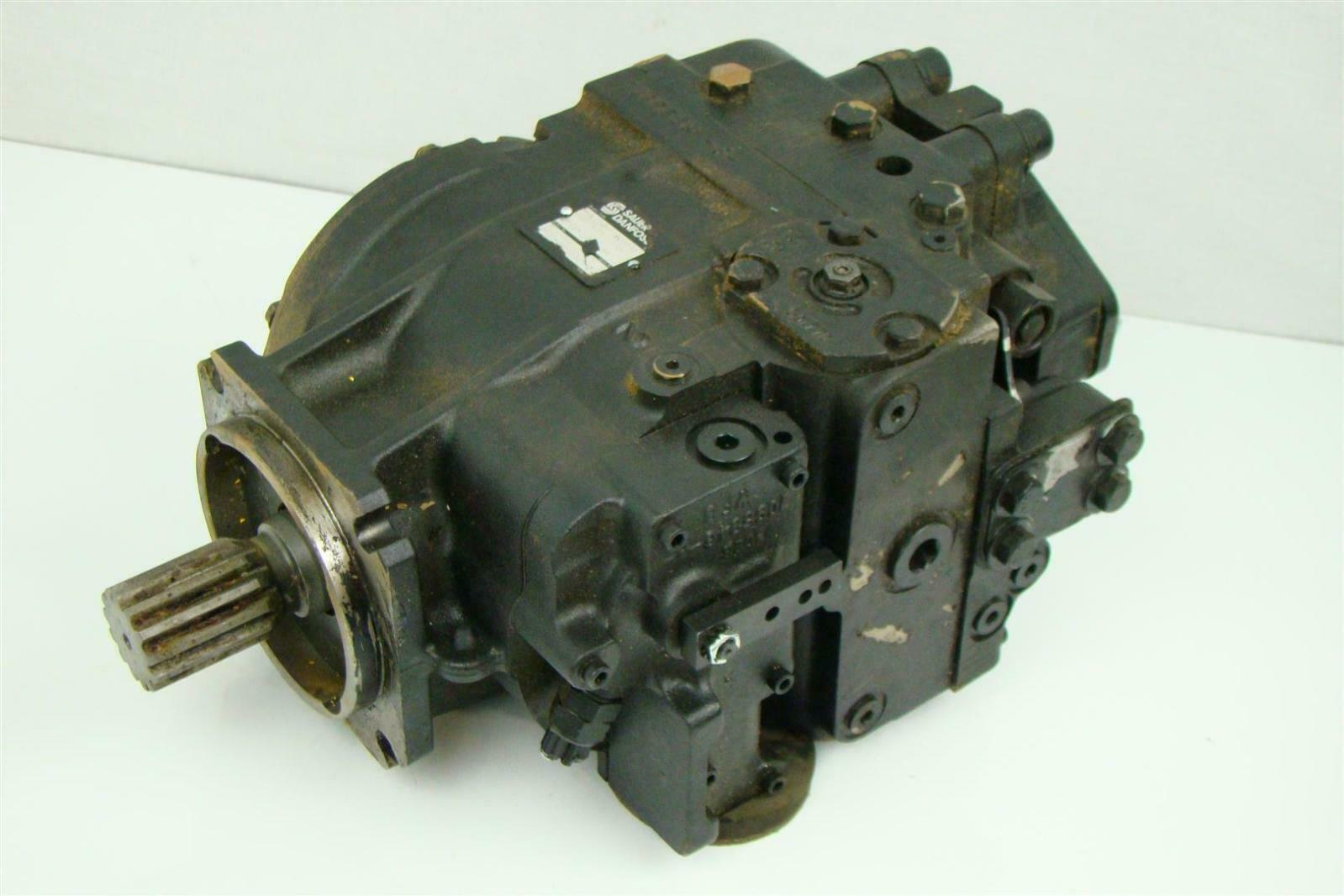 Sauer Danfoss Axial Hyd Motor 3 1 8 L X Shaft