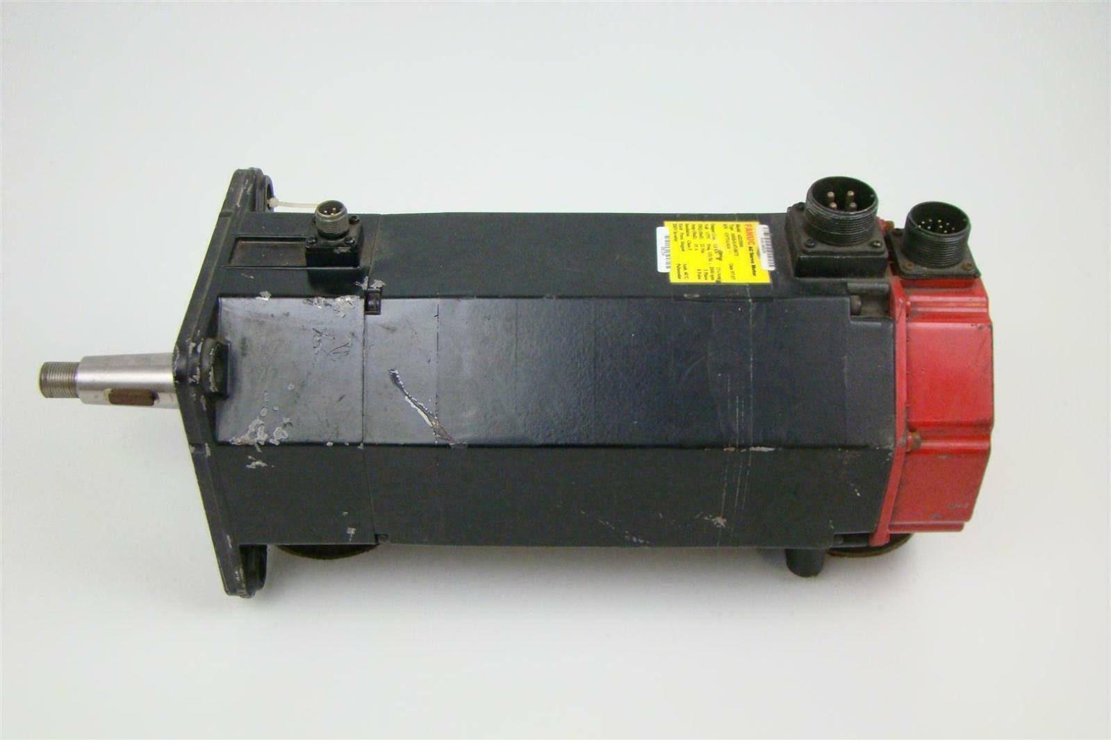 Fanuc Ac Servo Motor 157v 3 8kw 15a 2000rpm 3ph A06b 0147 B675 A22 2000 Joseph Fazzio