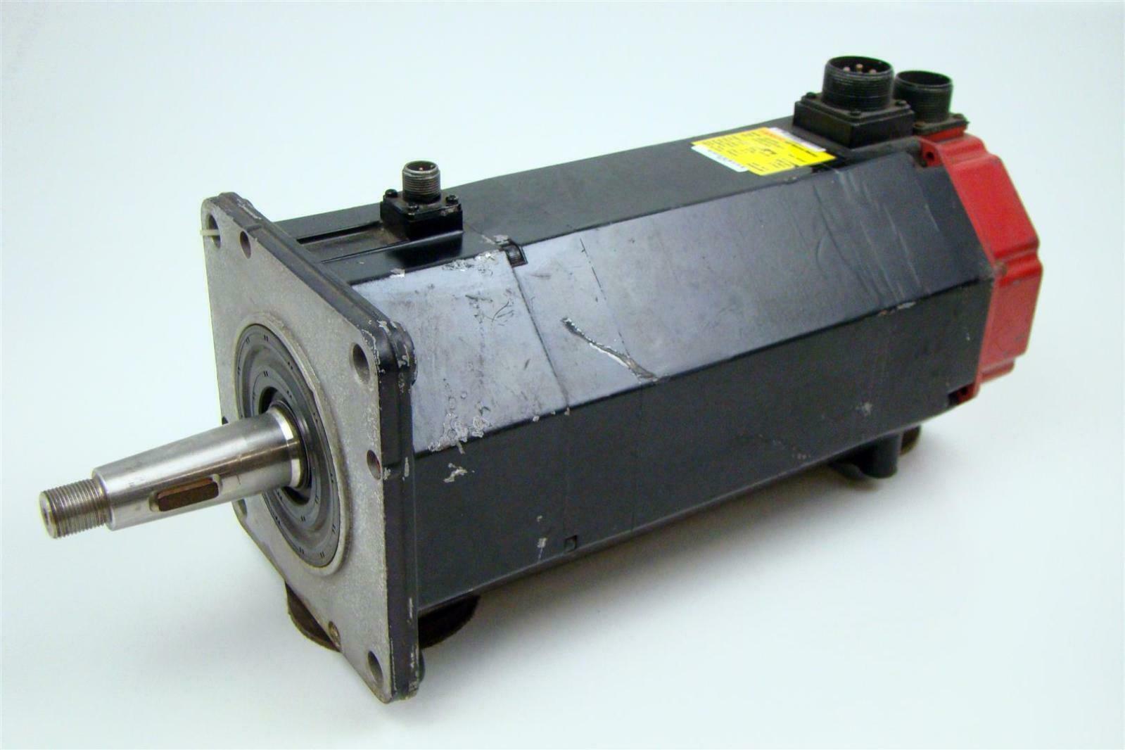 Fanuc Ac Servo Motor 157v 3 8kw 15a 2000rpm 3ph A06b 0147