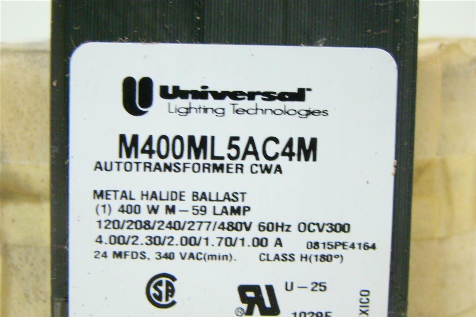 Universal Lighting Technologies Metal Halide Ballast M400ML5AC4M Universal Lighting Technologies Metal Halide Ballast M400ML5AC4M ... & Universal Lighting Technologies Metal Halide Ballast M400ML5AC4M ... azcodes.com