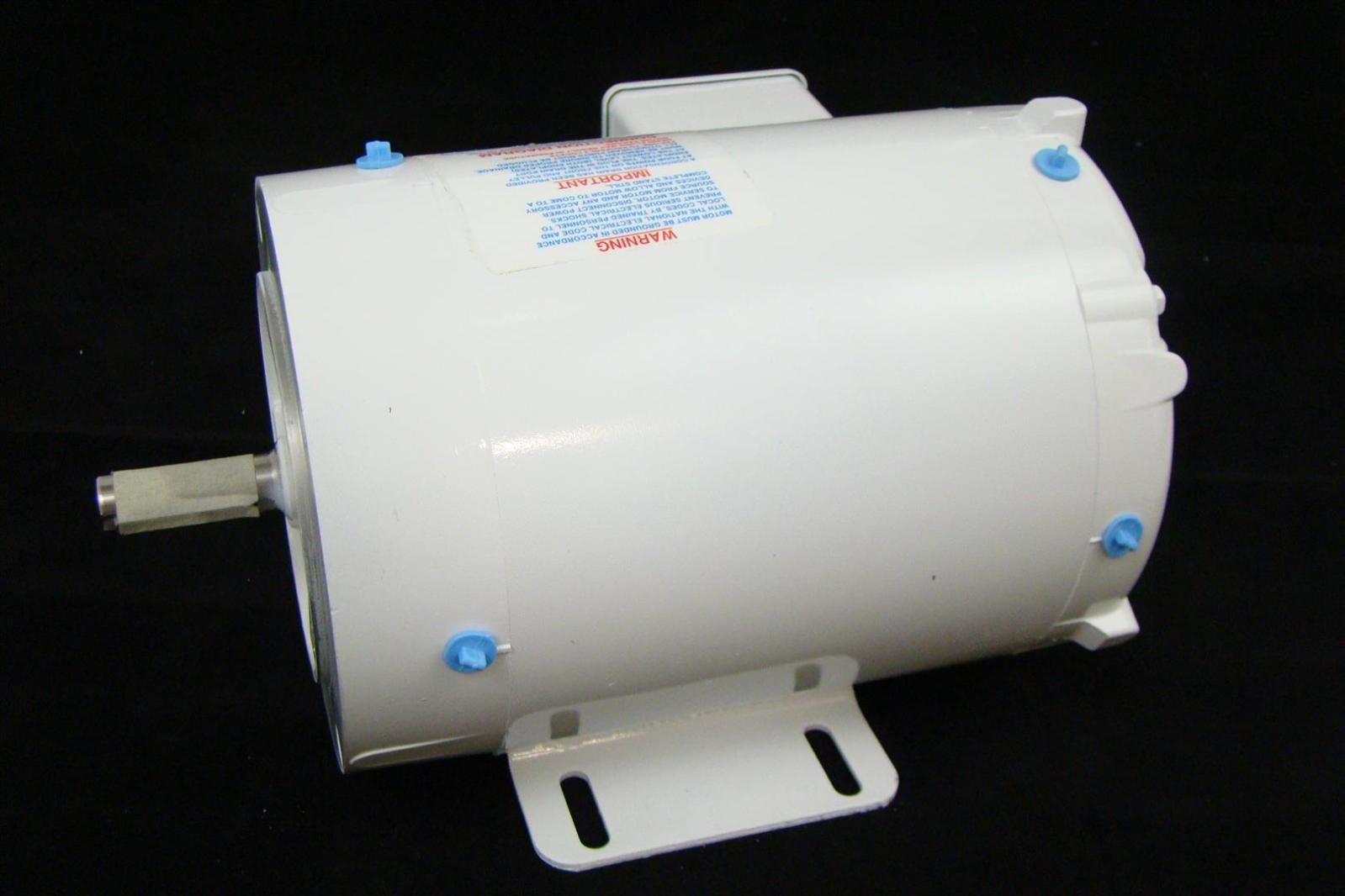 Baldor 1hp Electric Motor 3450rpm 56c 230 460v Washdown
