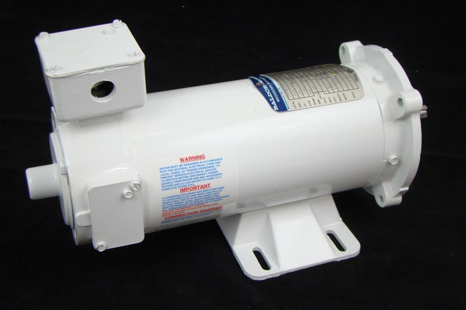 Baldor 1 2hp Electric Motor 1750prm 90vdc Washdown Duty