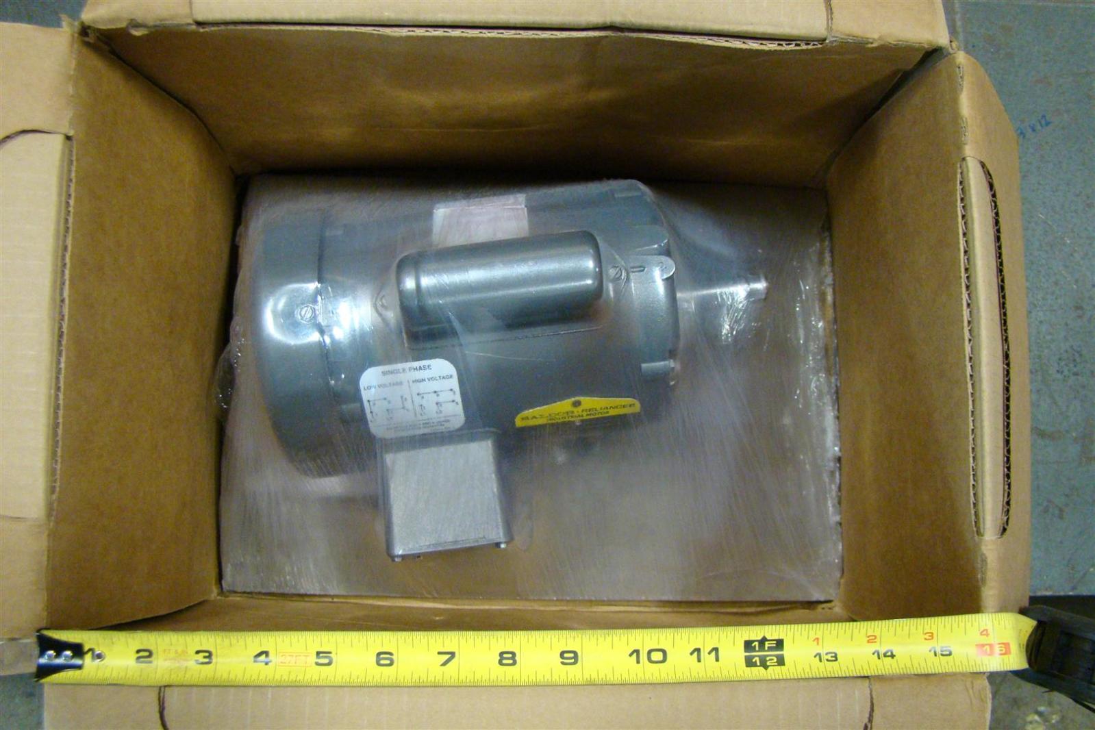 Baldor 1 3hp Electric Motor 1425rpm 110 220v Single Phase