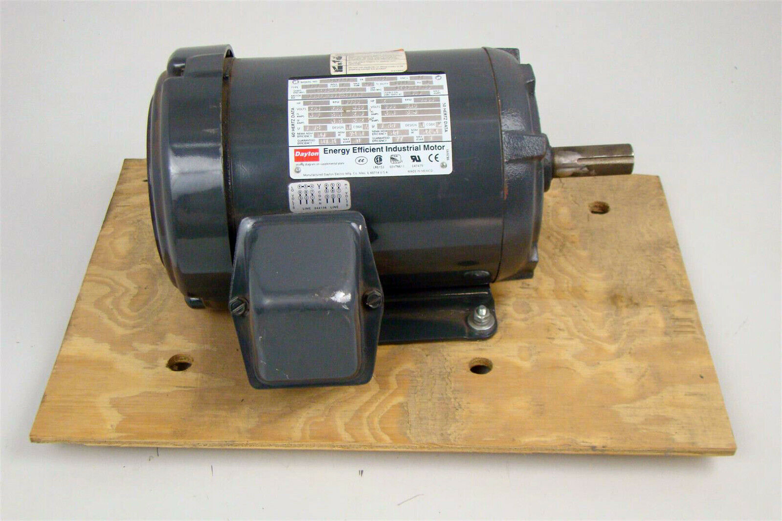 Dayton 2hp Electric Motor 1730rpm 230 460v 3kv74a Joseph