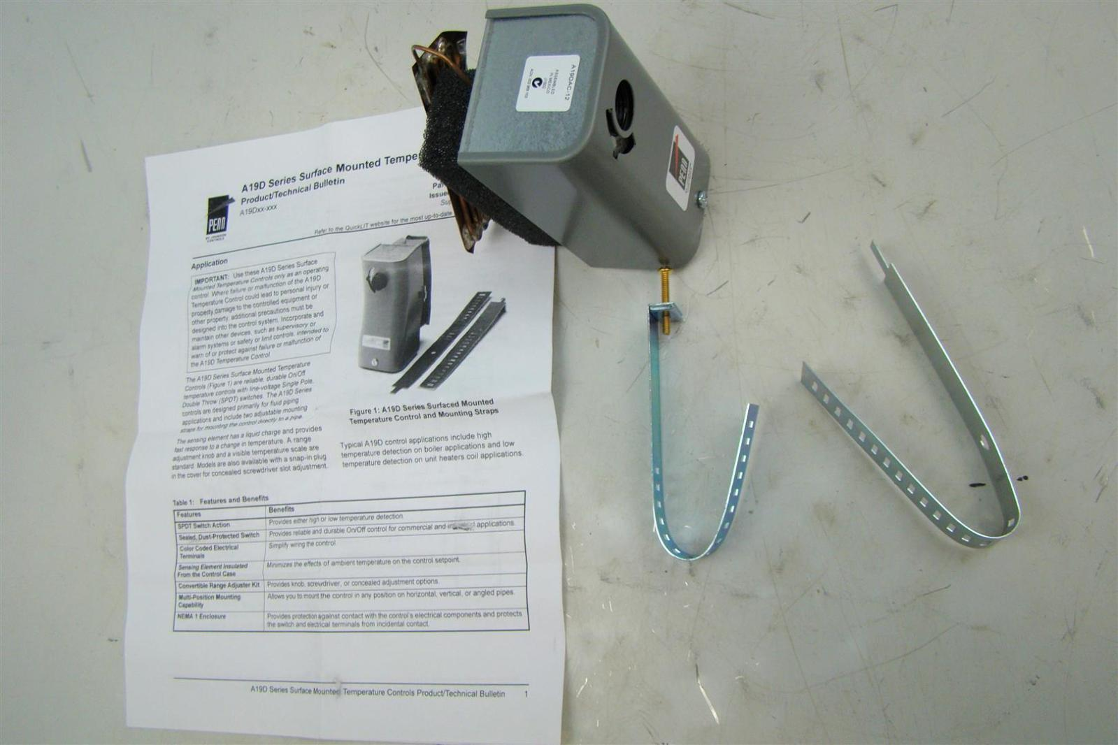Trane Steam Hot Water Heater W Thermostat 108 000 Btu