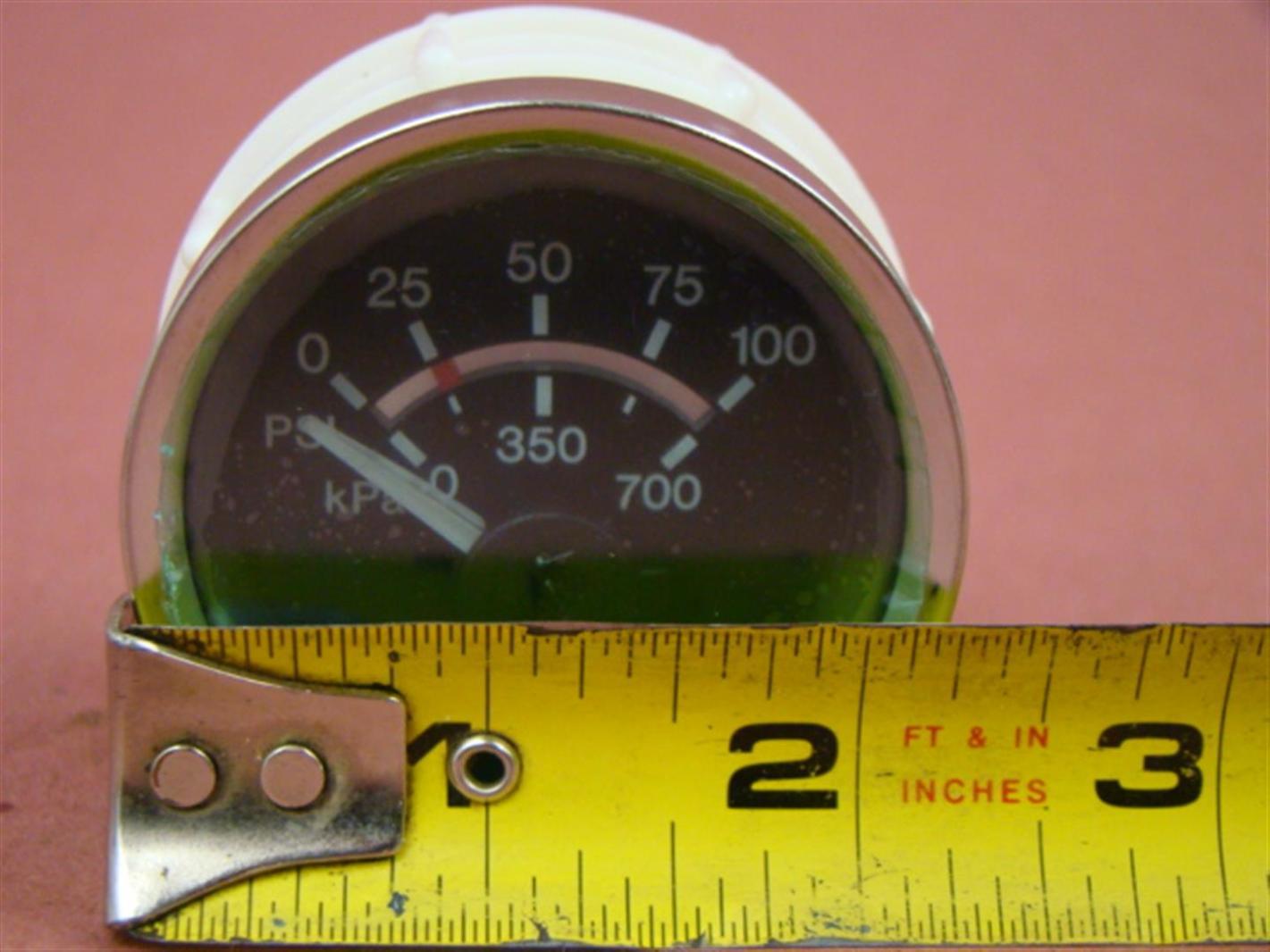 Murphy Electric Boost 100 PSI Gauge 2 1/2\