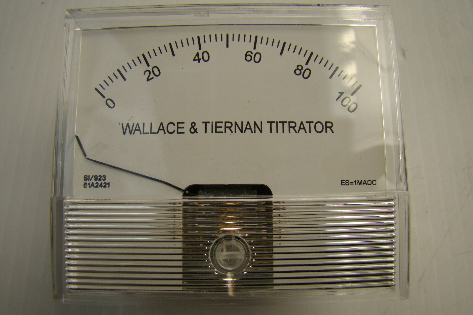 Simpson Panel Meter : Simpson panel analog madc meter u ebay
