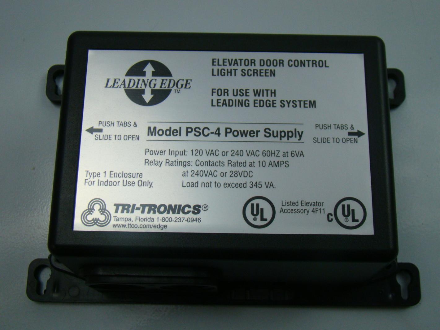 Tri-Tronics Leading Edge Elevator Door Control LIght Screen 120VAC PSC-4 ... & Tri-Tronics Leading Edge Elevator Door Control LIght Screen 120VAC ... pezcame.com