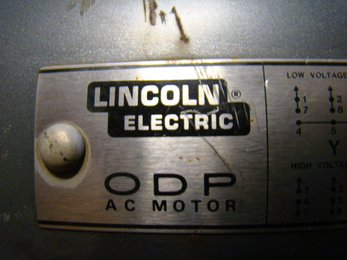 Lincoln Electric 25hp Odp Ac Motor 200 400v 1940607851