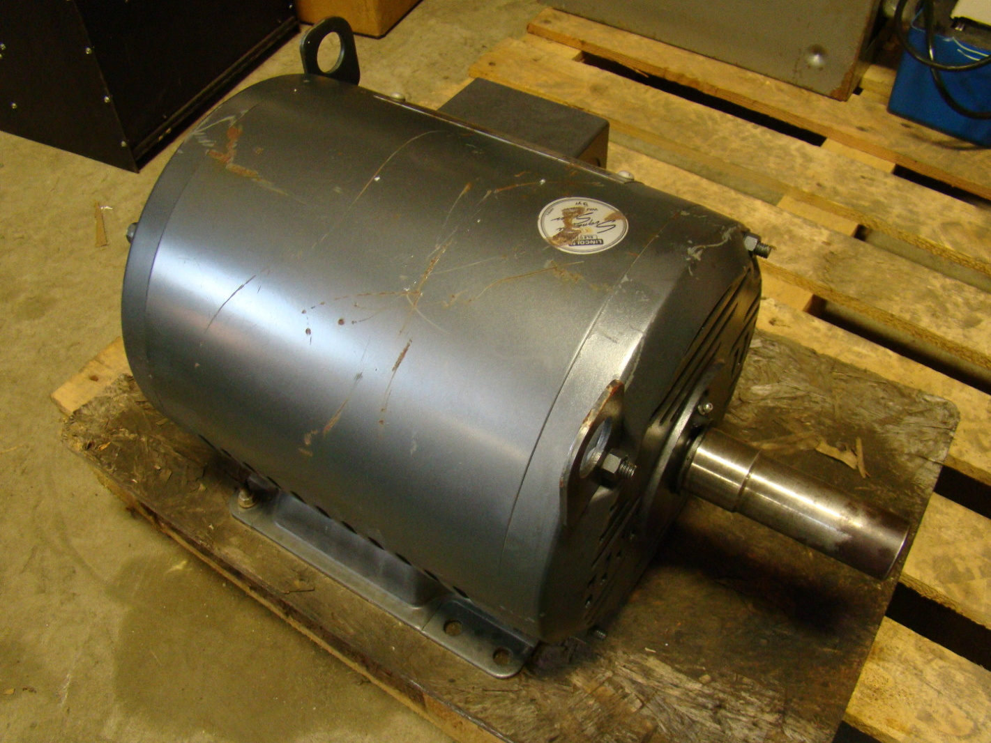 Lincoln electric 25hp odp ac motor 200 400v 1940607851 for 400 hp electric motor