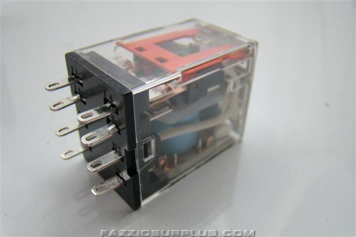 Diagram Omron 24vdc 8 Pin Relay My2n