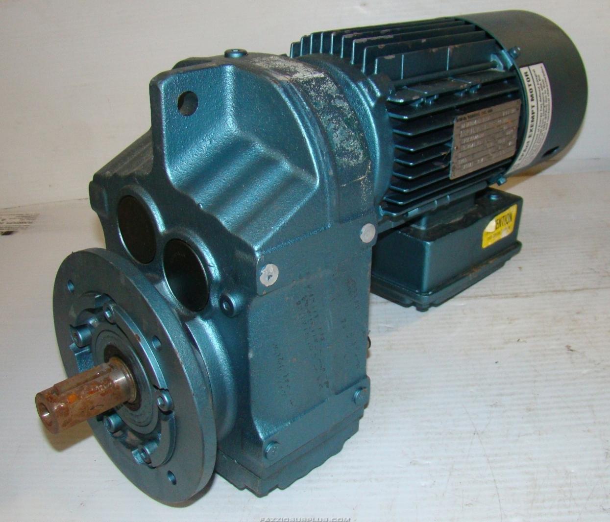Sew eurodrive 1hp brake motor 230 460v dft80n4bmg1hrz ebay for Sew motors and drives
