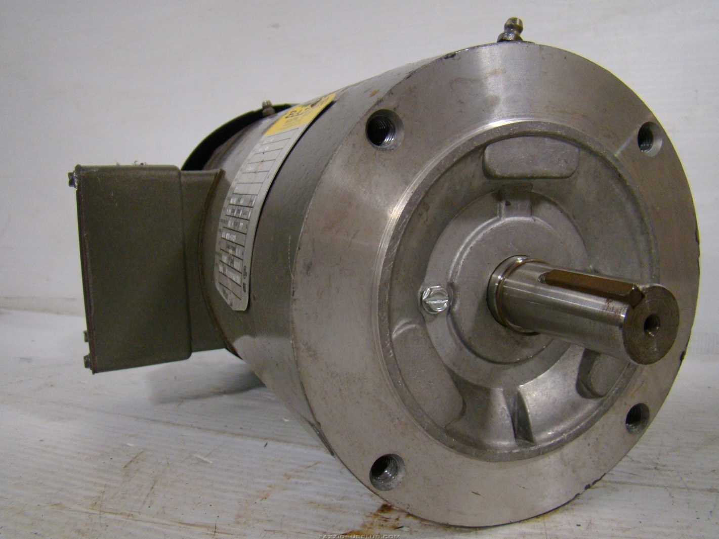 Baldor 2hp electric motor 1451c 230 460v vm35587 ebay for Baldor industrial motor parts