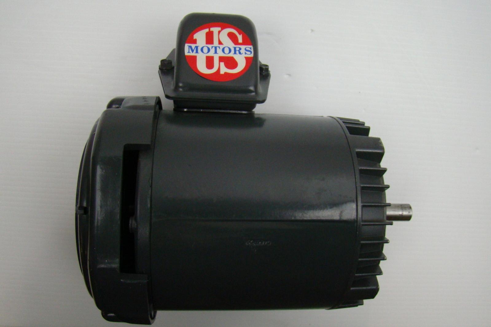 Emerson Electric Motor 1 2 Hp 208 230 460v F046 U12s2acr