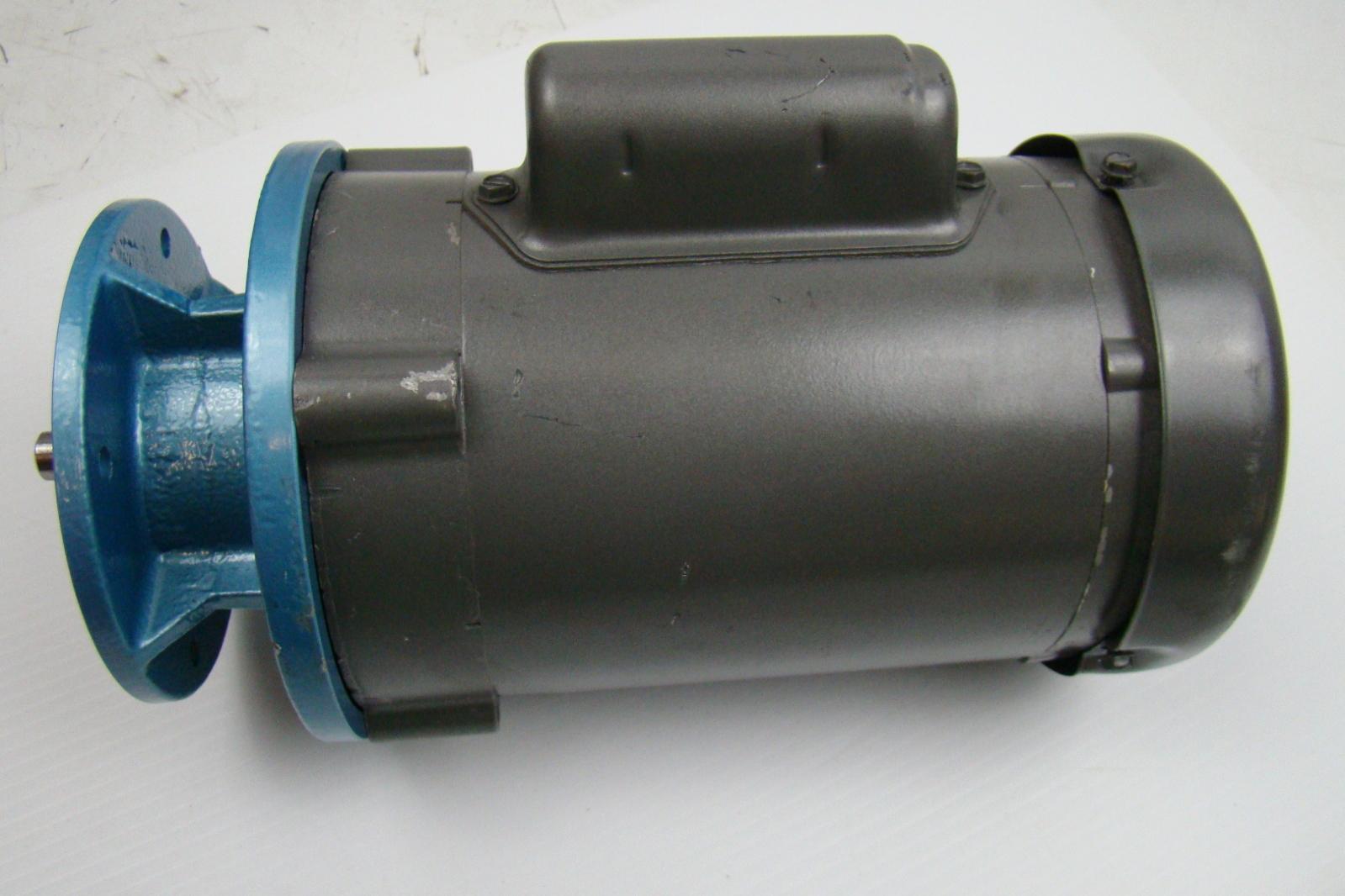Baldor 1 4 hp industrial motor 115 230v single phase 56c for Baldor 2 hp single phase motor