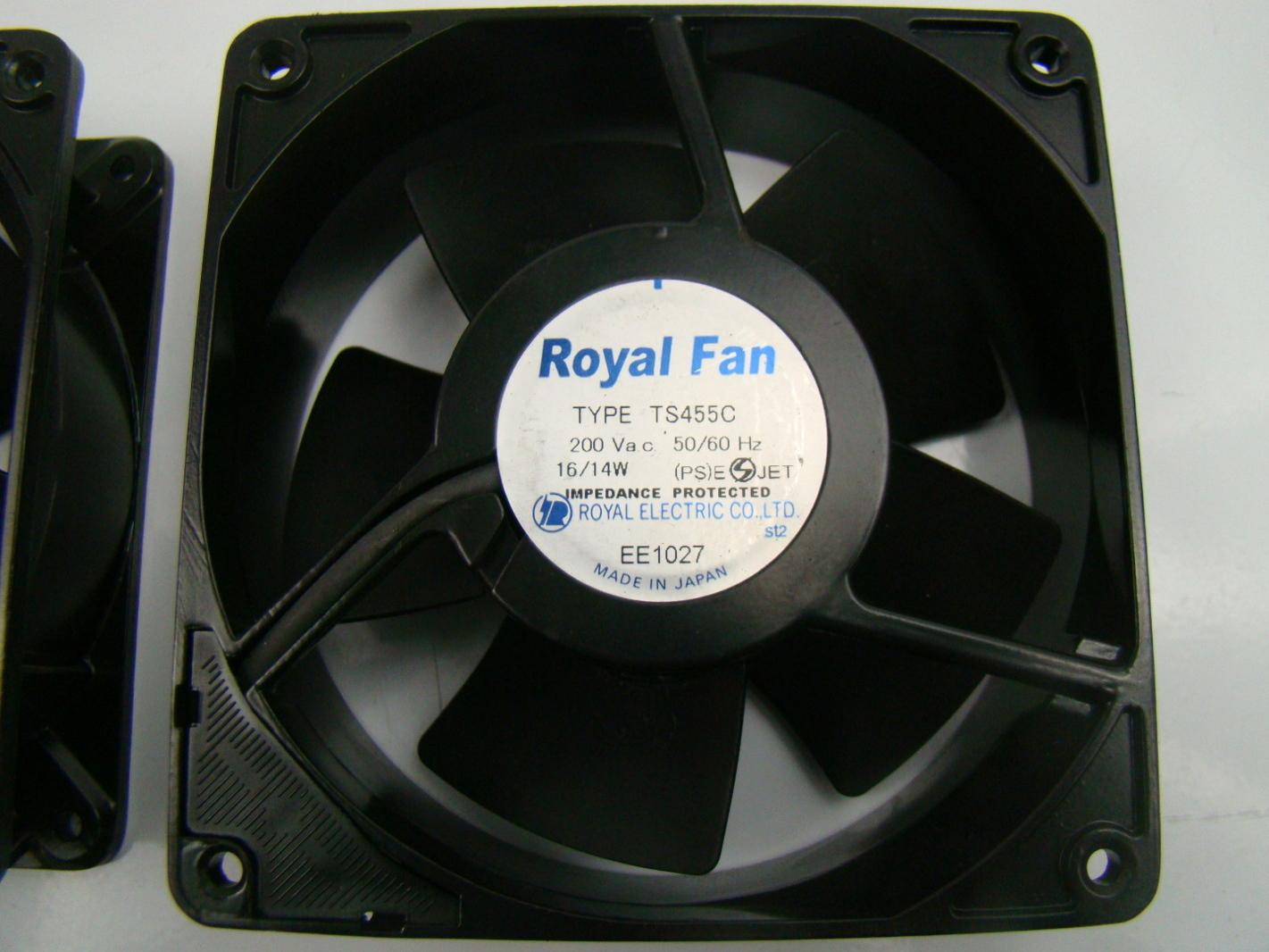 Royal Electric 200 Volt Axial Fan Type Ts455c