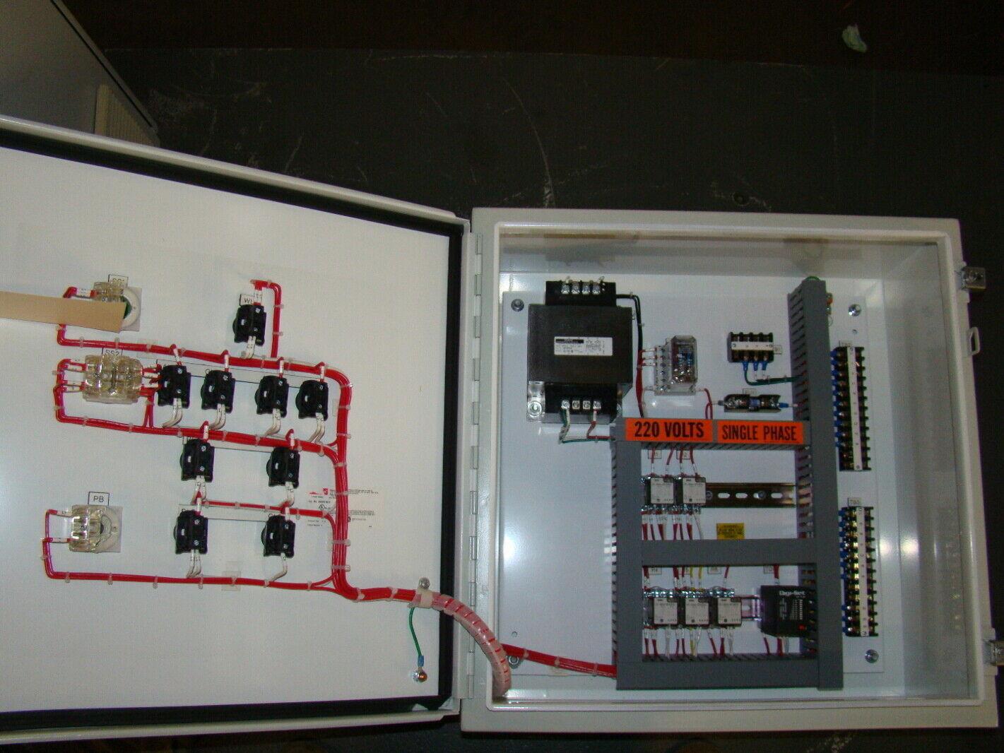 Hoffman 220 Volts Control Panel A242410lp