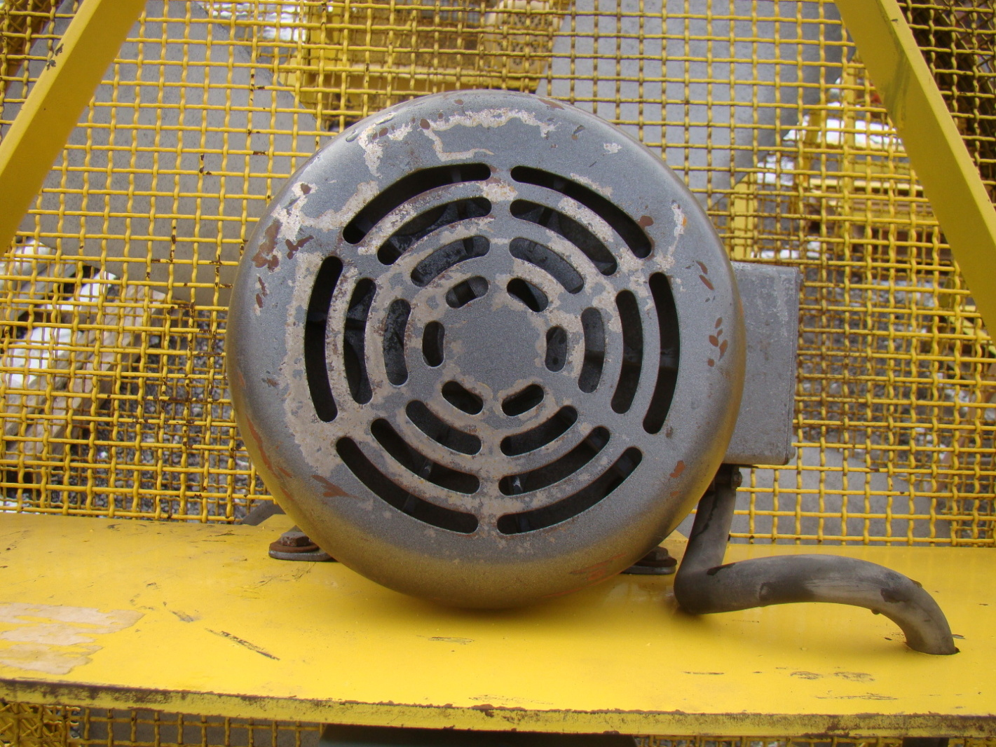 44 Wide Blade Industrial Axial Fan With Baldor 5 Hp 3