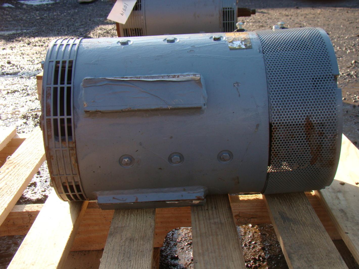 Ge Winding Series 72v 913 Rpm 9hp Forklift Dc Motor