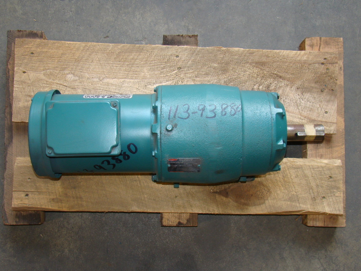 Reliance 1 2hp Electric Motor 208 230 460v P56h3884r