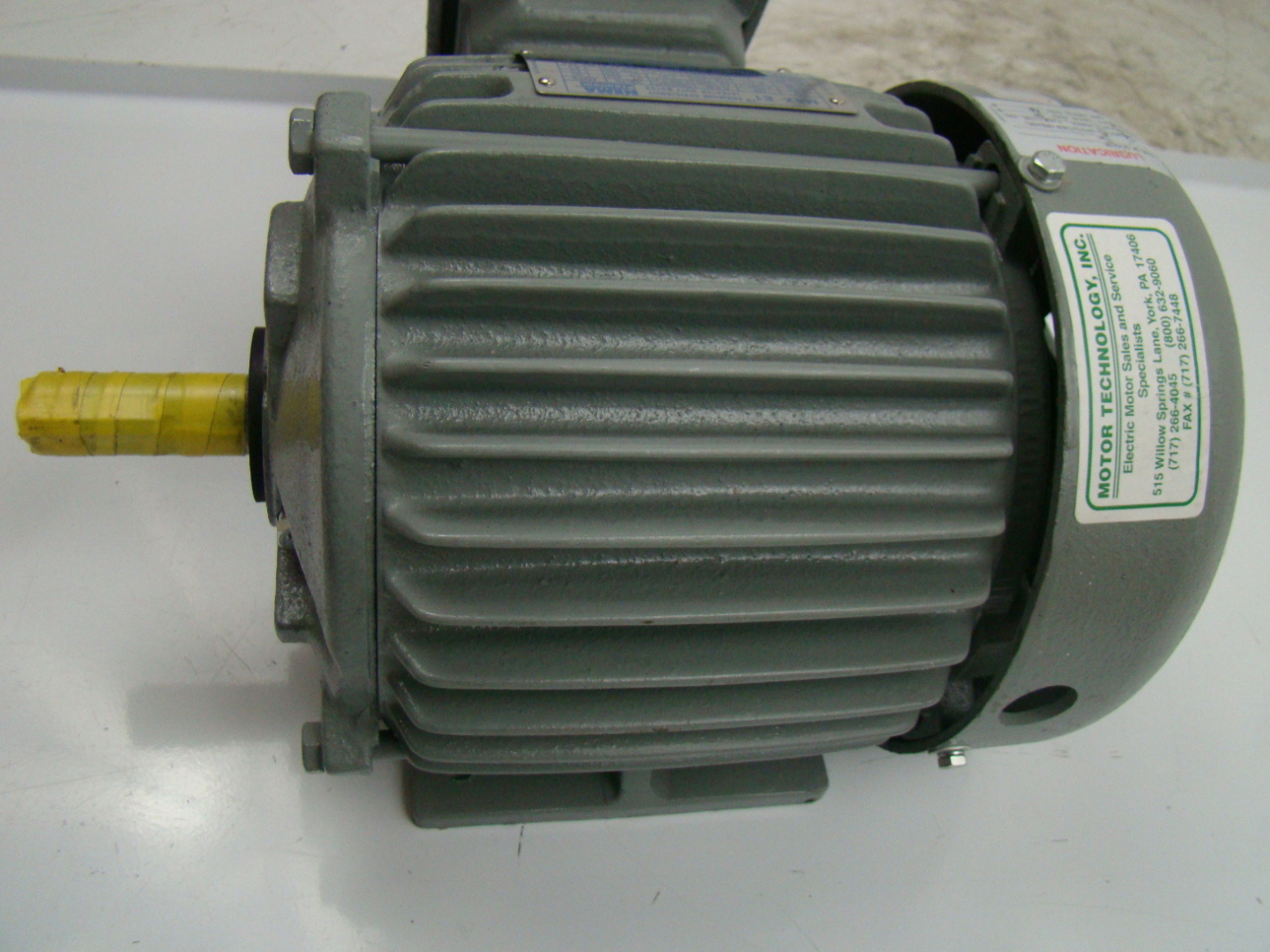 Teco Westinghouse 1 Hp 230 460v Inverter Duty Motor Max E1