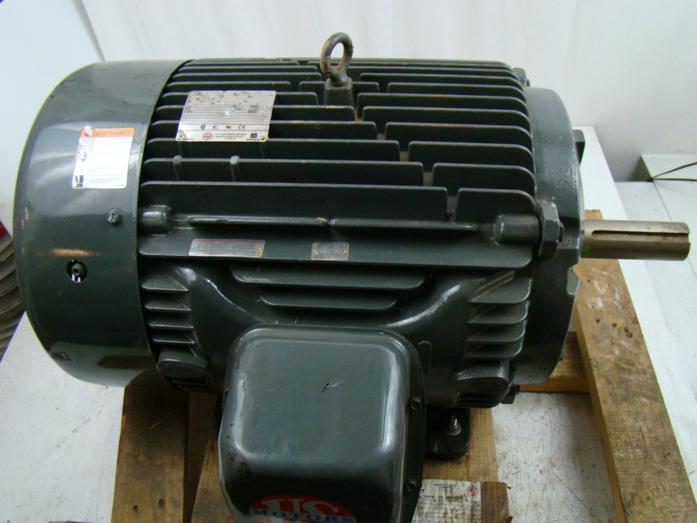 Us motors 3 phase 1785 rpm 40 hp electric motor 460v for 2 hp 3 phase motor