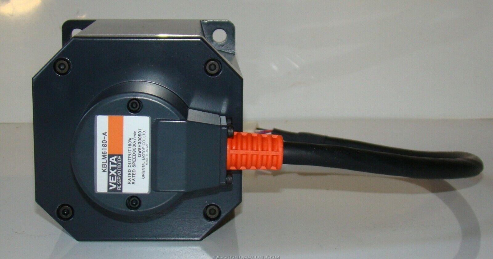 Vexta ac servo motor drive kblm6180 a for Ac servo motor drive