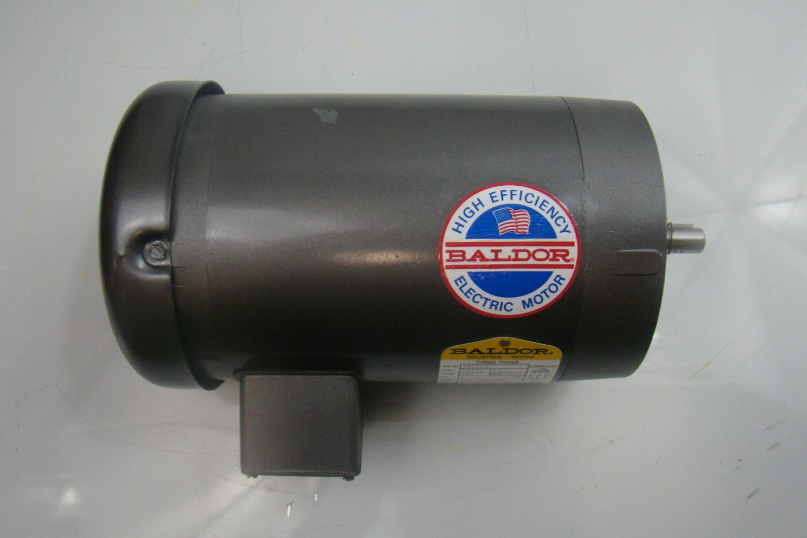 Baldor 2 Hp 3450 Rpm Electric Motor Vm3555 Ebay