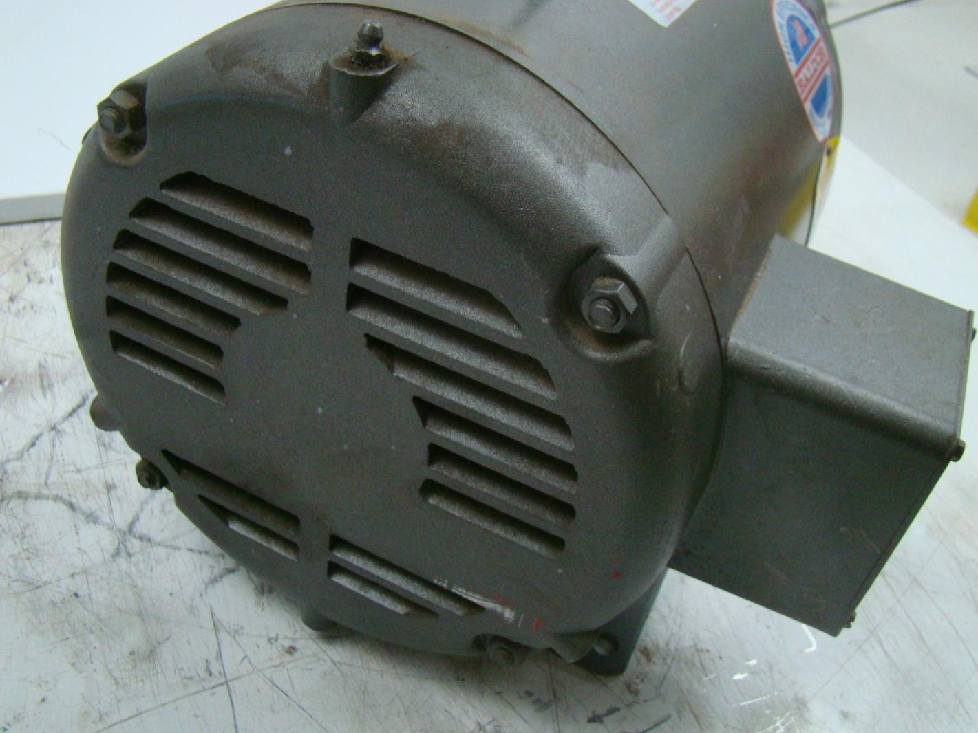 Baldor 5 Hp Electric Motor 208 230 460v 1725 Rpm M3308