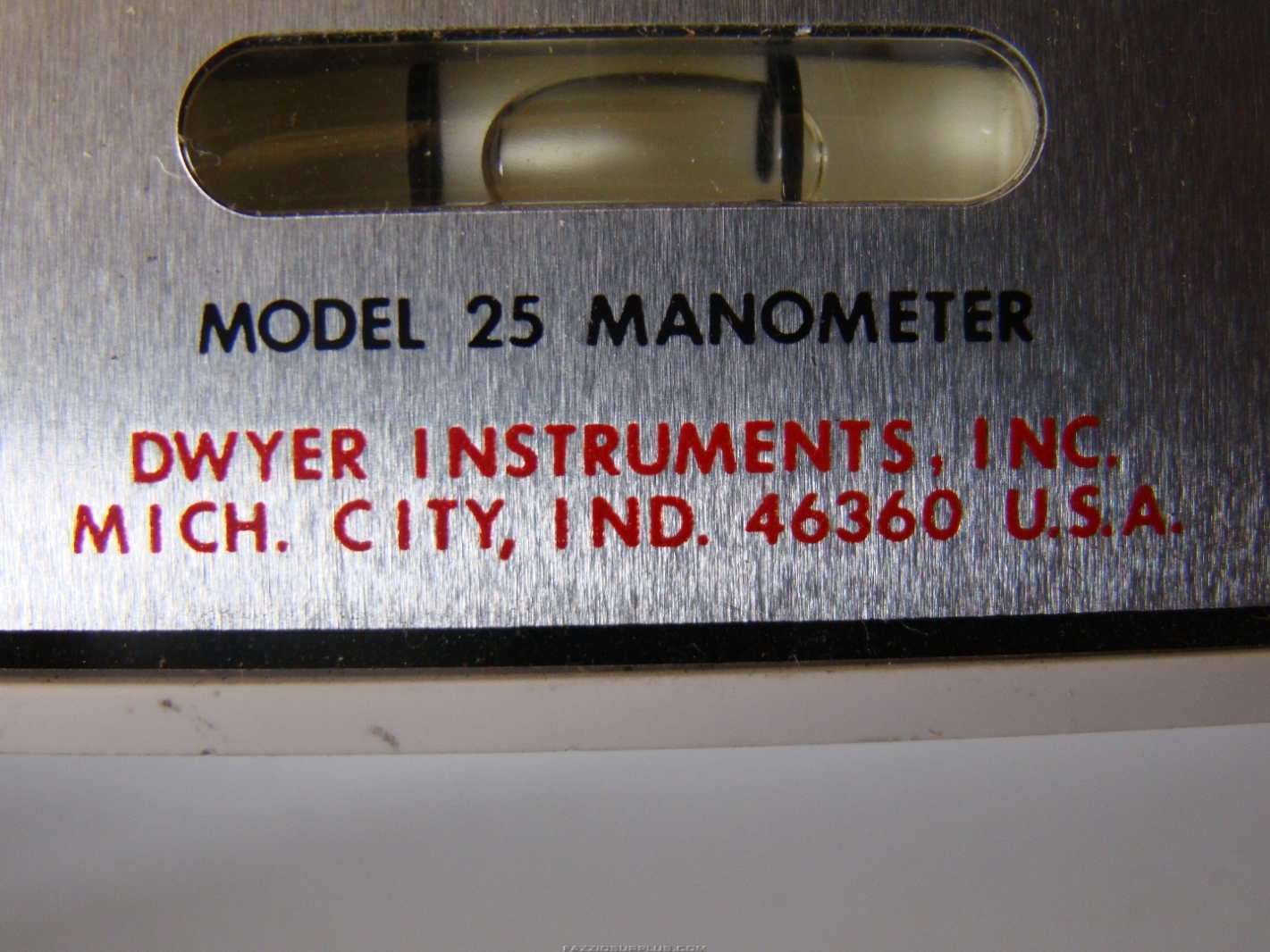 dwyer mark ii manometer instructions