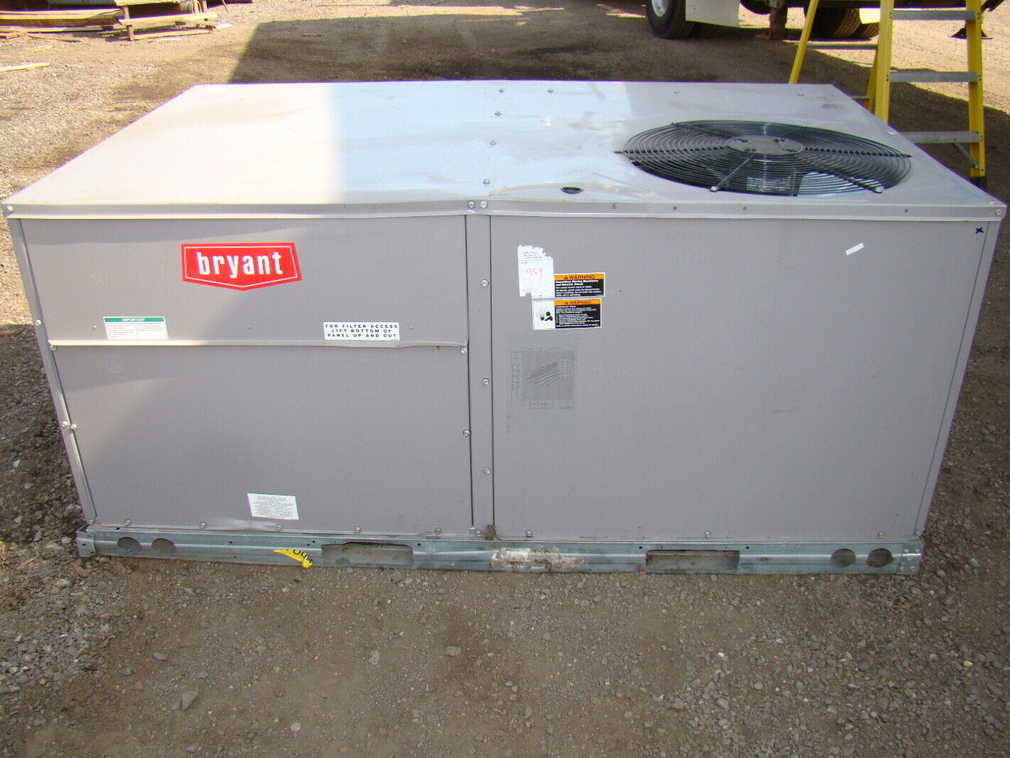 #976C34 Bryant 4 TON 78 499 BTU Air Conditioning Unit 460v EBay Brand New 141 4 Ton Ac Units images with 1421x1066 px on helpvideos.info - Air Conditioners, Air Coolers and more