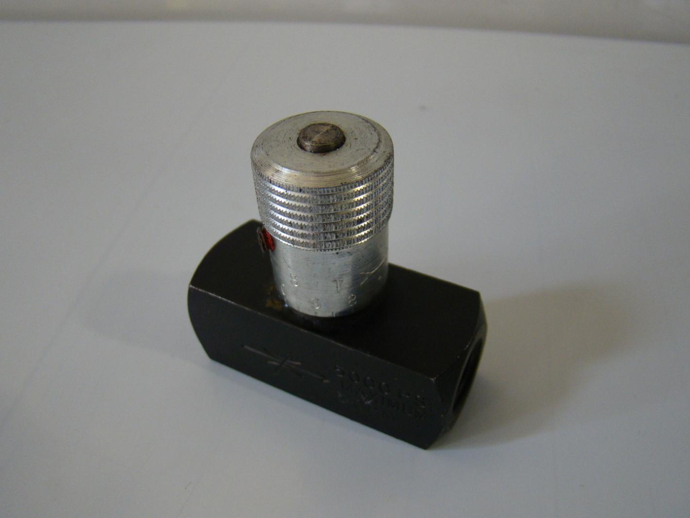 Parker Hydraulic Needle Valve N400s 11 Dt Joseph
