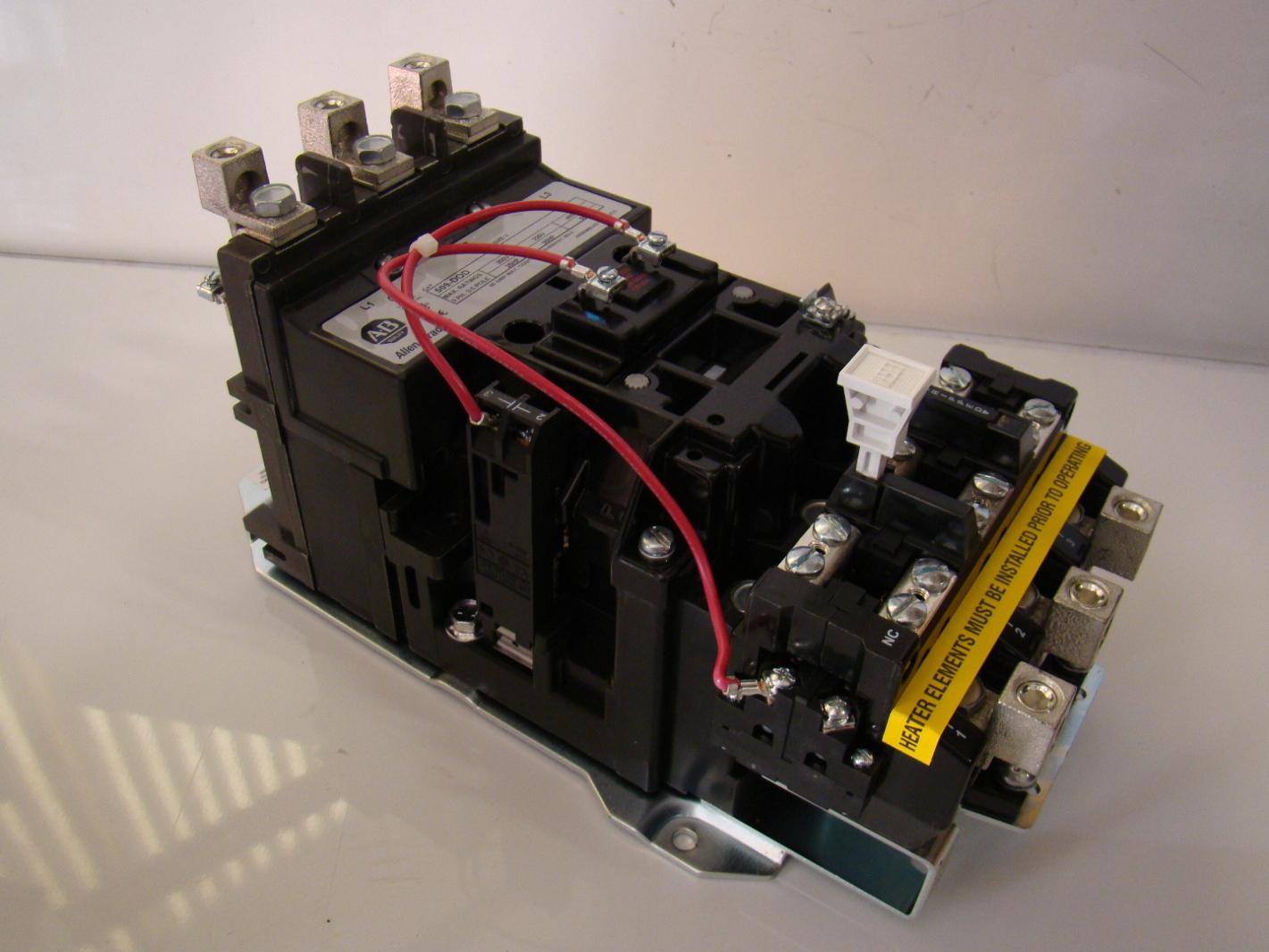 Allen Bradley Size 3 Motor Starter 509 Dod Joseph