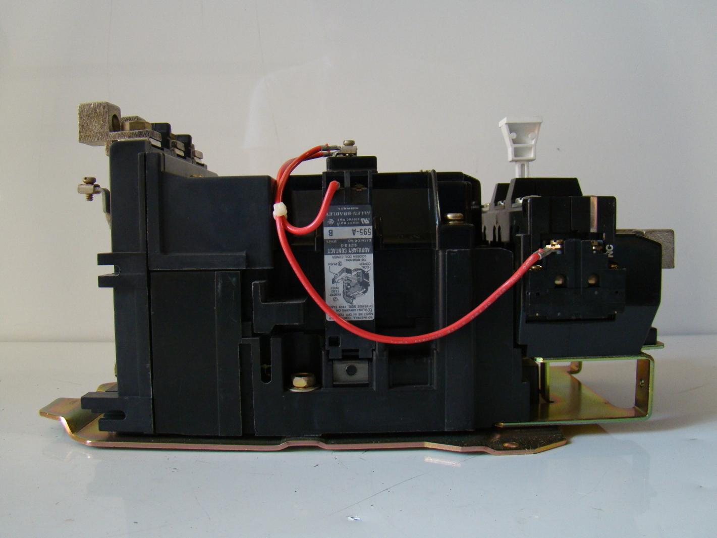 Allen Bradley 600v Motor Starter Size 3 509 D0d