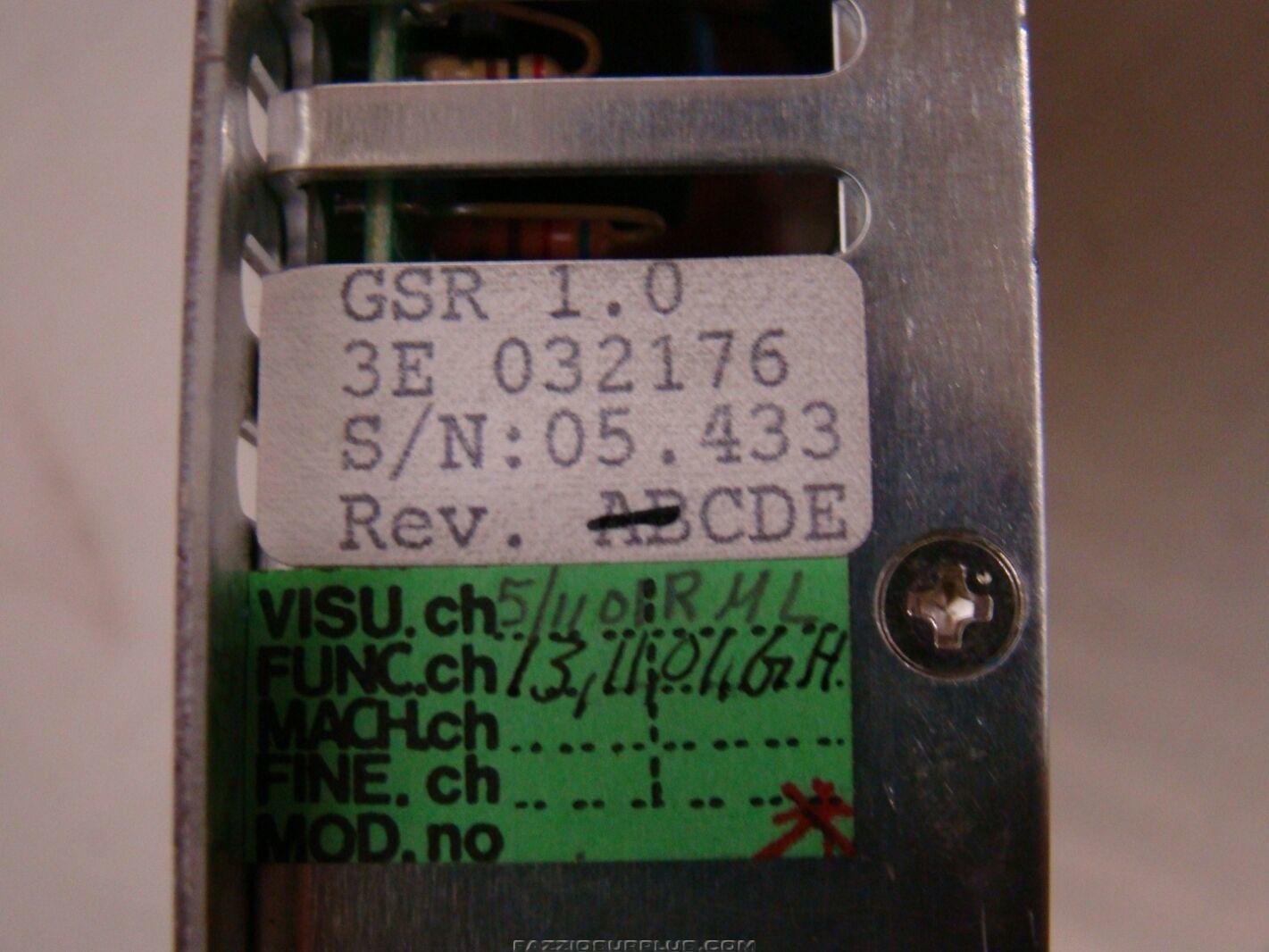 Asea Brown Boveri Power Supply Module For Robotic 3e 032176