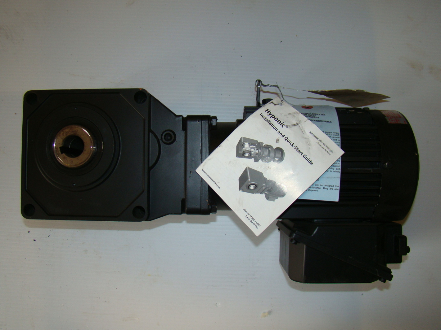 Sumitomo Hyponic 1 Hp Gear Motor 40 1 Rnyms1 1420a 40