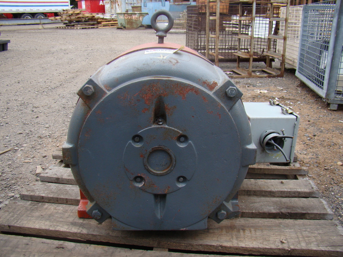 Westinghouse 40hp Electric Motor 440v 474b56g33 Ebay