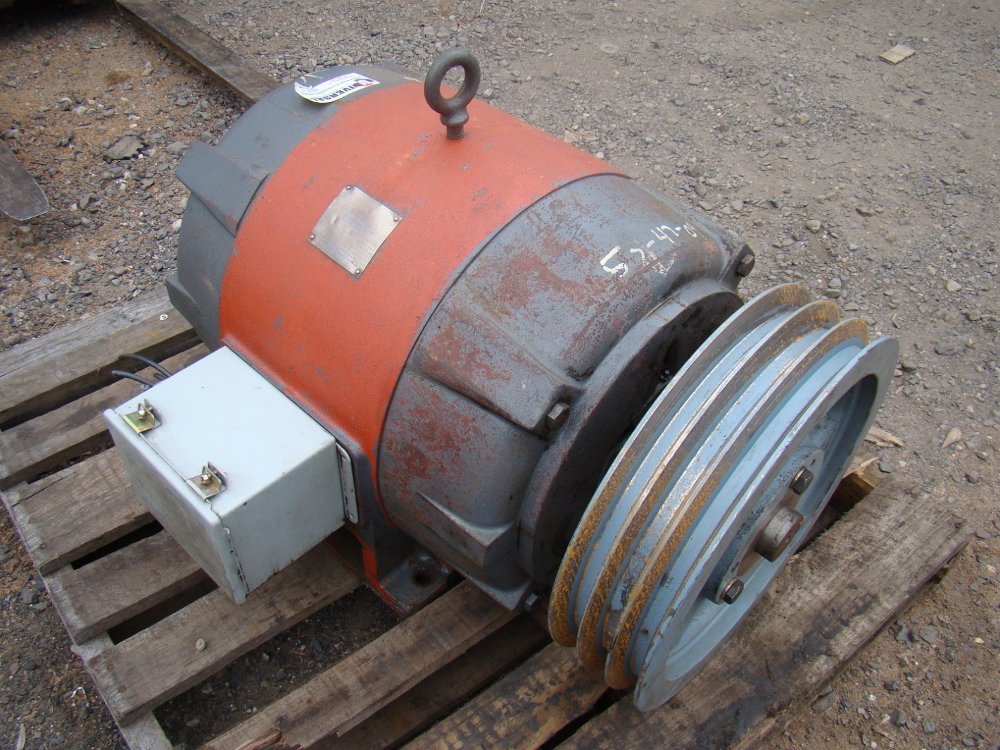 Westinghouse 40hp Electric Motor 440v 474b56g33 Ebay