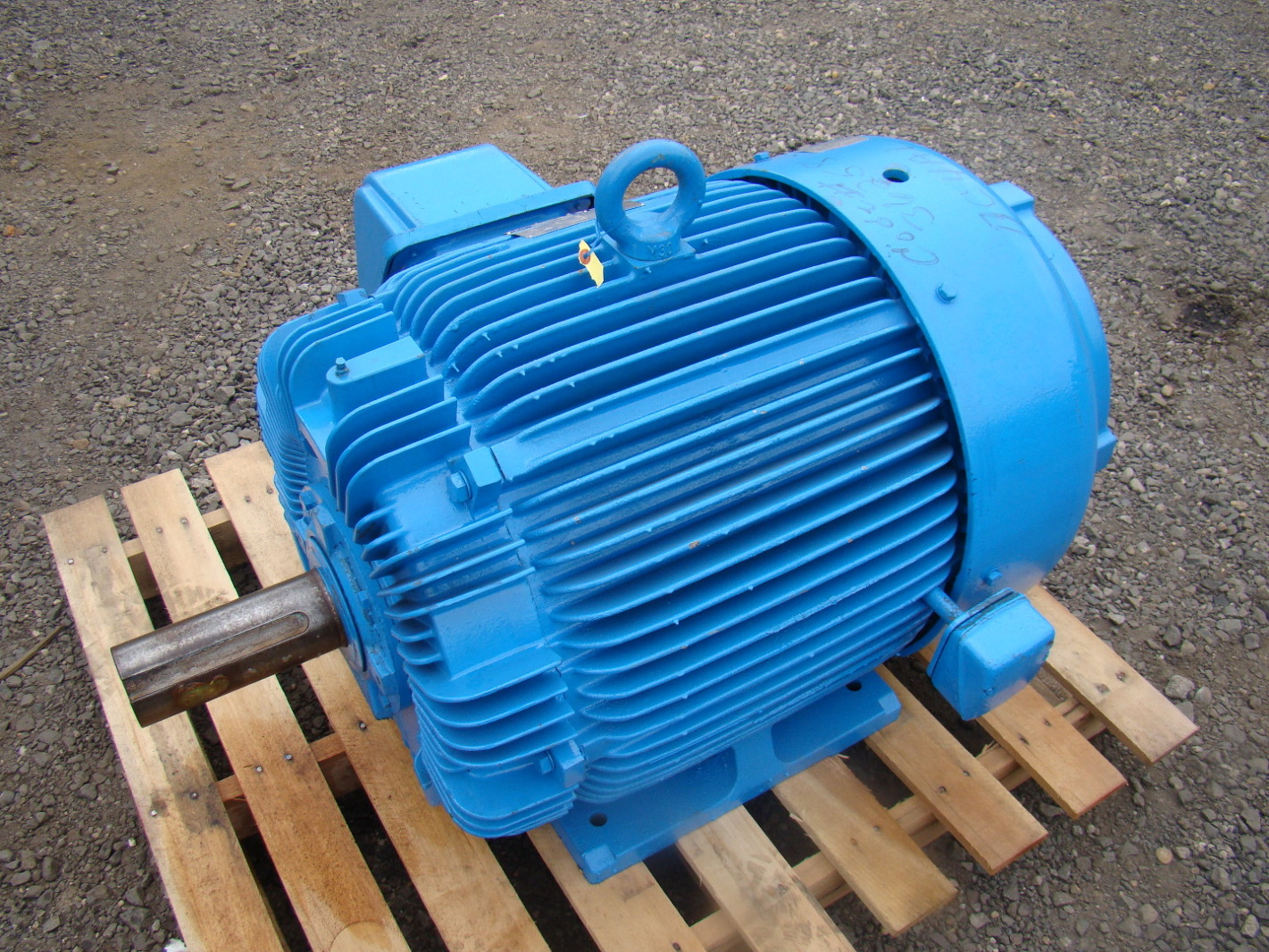 Westinghouse Max E2 125hp Electric Motor 460v Aehh Uw004