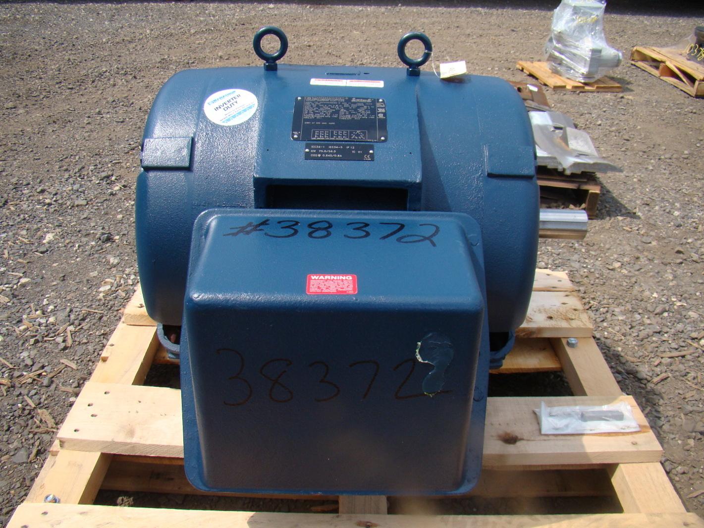 100hp Marathon Electric Motor 230  460v Waa042846