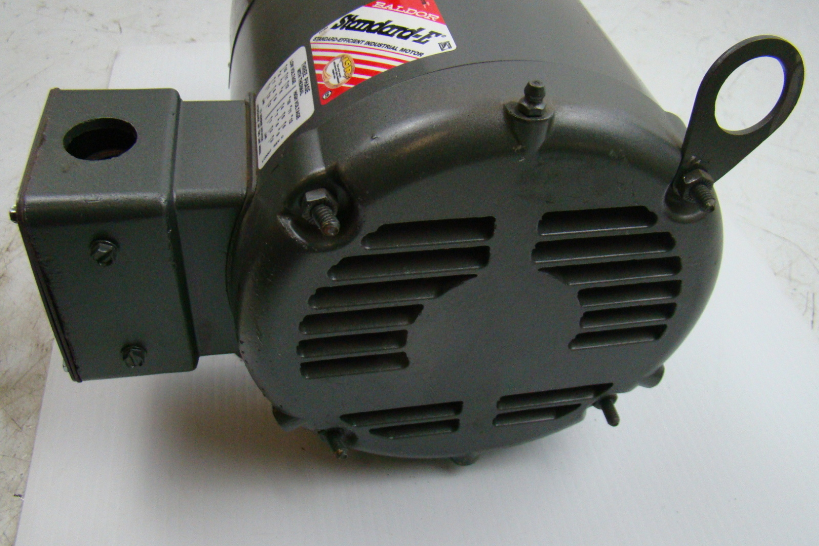 Baldor standard e 5hp electric motor 230 460v 36j448y335h2 for Baldor industrial motor parts