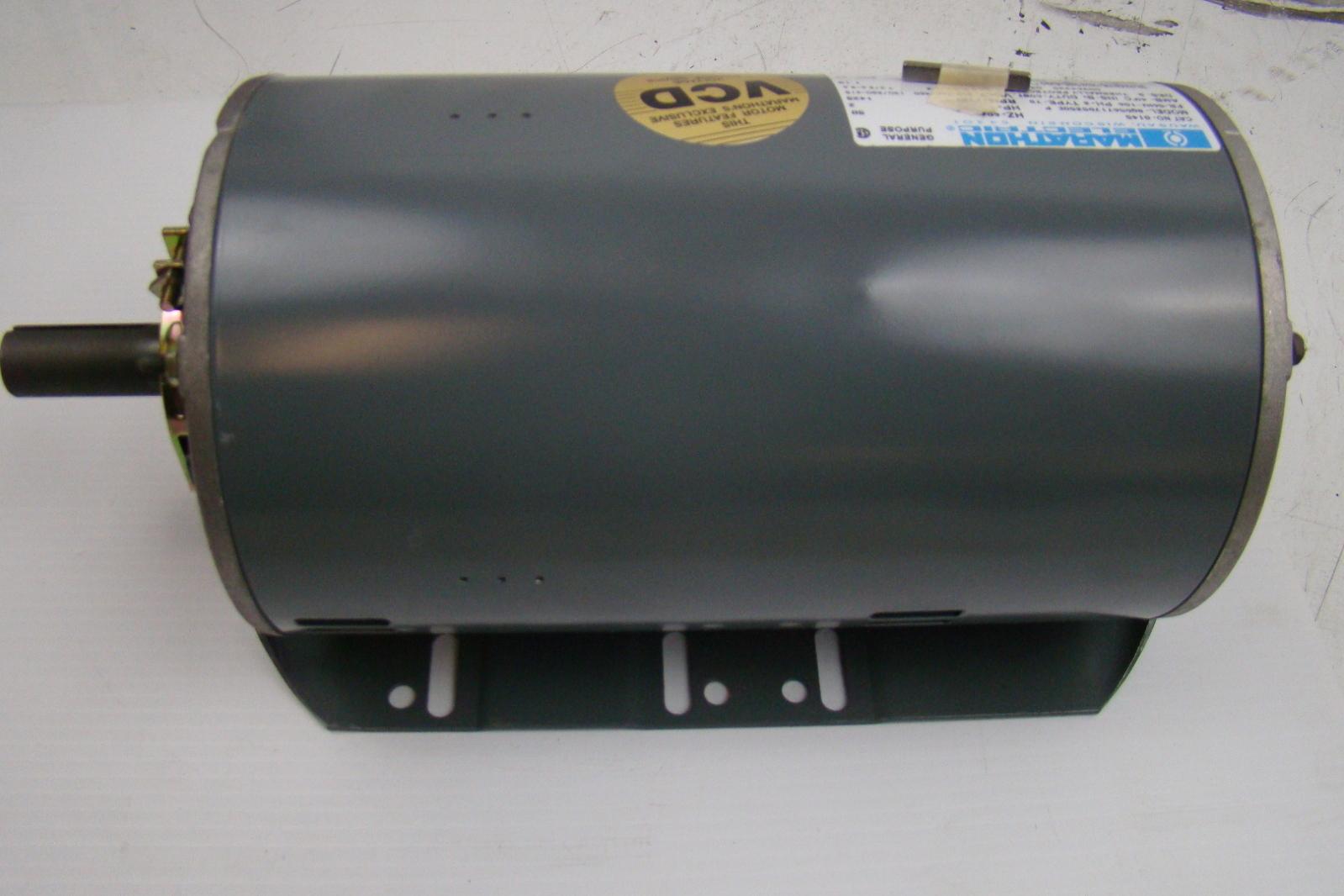 Marathon Electric Motor 3 Hp 208 230 460 8qd56t17d5350e P G145