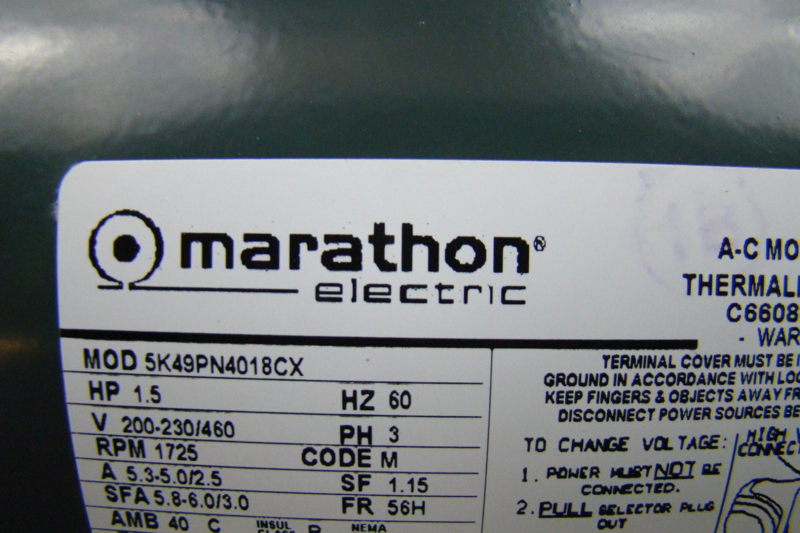 Electric Motor Marathon Impower Pump Wiring Diagram Wire Pictures